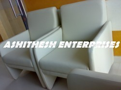 White Cushion Chair