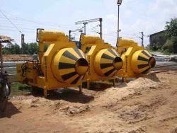 Reversible Drum Diesel Concrete Mixers