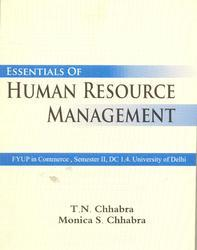 Essential of Human Resource Mgmt Anthropology Books