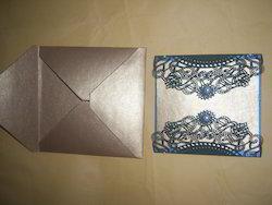 Laser Cut Handmade Paper Wedding Invitation Cards