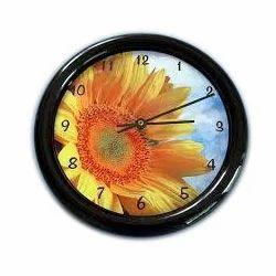 Sublimation Clocks