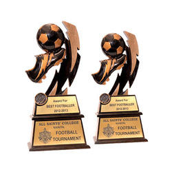 R Series Football  Trophies