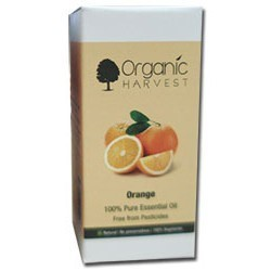 Organic Harvest Orange Oil 100% Pure Essential Oil