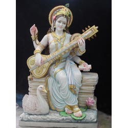 Saraswati Ji idol