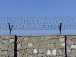 Rounded Sharp Wire Fencing Services