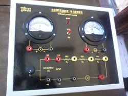 Resistance+in+Series+Apparatus