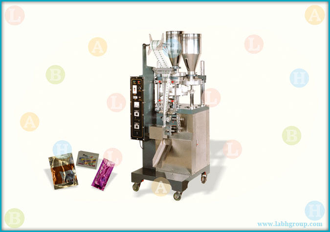 Automatic Sachet Packing Machine with Double Filler
