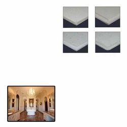 Fissured ceiling tiles