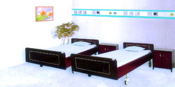 home care double crank bed