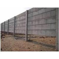 RCC Concrete Boundary Wall Compound