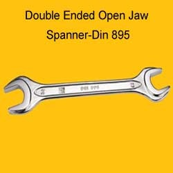Double Ended Open Jaw Spanner-Din