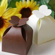 Petal Boxes for Wedding Favors, Chocolate Packaging