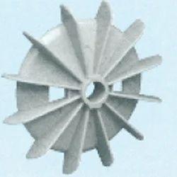 Plastic Fan Suitable for Bharat Bijlee 71 Frame Size 2 Pole
