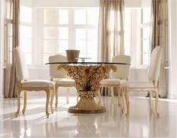 Tree of Life Wooden Dining Table