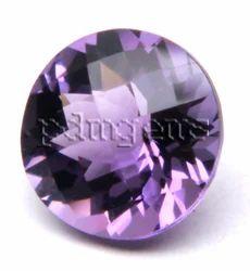 Amethyst Faceted Round Gemstone