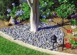 garden pebbles stone