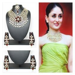 kundan necklace set jewellery