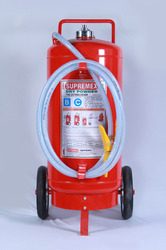 Trolley Mounted Dry Powder Extinguisher - IS 10658