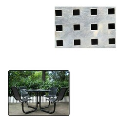 Square Hole Perforated Sheet for Chair