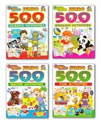 Tricolor Jumbo 500 Activities Book