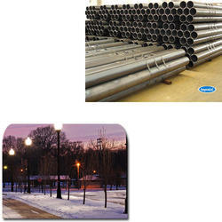 Round Hollow Pipe for Street Light Pole Tower