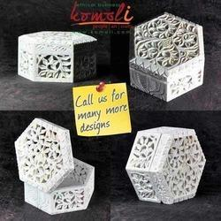 Stone Jewellery Boxes - Soap Stone Carving