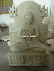 Buddha Statue in Dharma Chakra Mudra