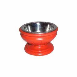 Wood Cat Bowl