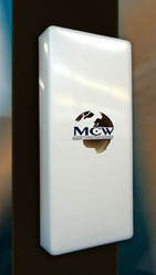 the mcw broadband antenna longer range of transmission sam