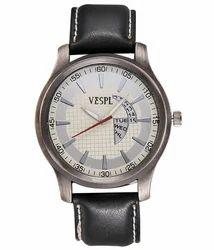 VESPL Maestro Silver Dial Analog Men's Watch-VS191