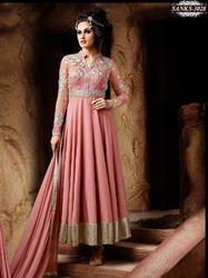 Pink Anarkali Salwar Kameez