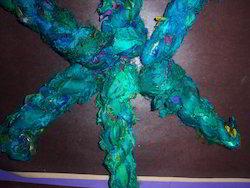 Sari Silk Ribbons In Single Dyed Colors