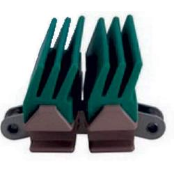 Side Flexing Snap On 3-Finger Gripper Plastic 1873 Tab