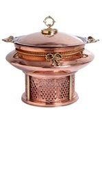 Copper Catering Chafing Dishes