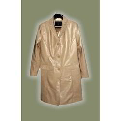 Ladies Leather Long Coats