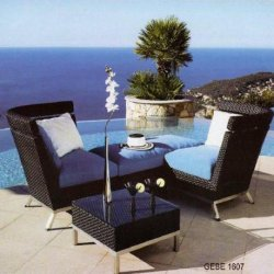 trendy wicker easy chairs