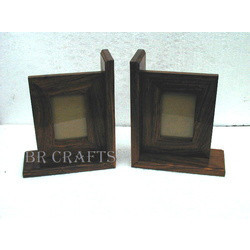Bookends With Photo Frames