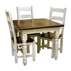 Distressed Wooden Dining Table