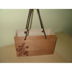 Wood Veneer Carry Bag