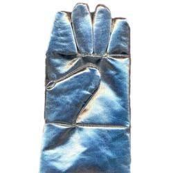 aluminized fiberglass hand gloves
