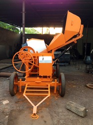 hydraulic mixer with digital weighing system