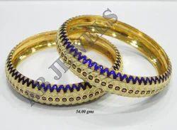 Meenakari Gold Bangles