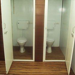 VIP Portable Bunk Toilets