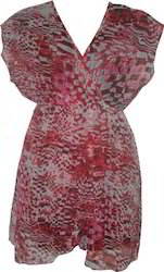 Polyester Printed Dress