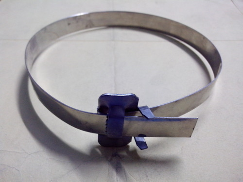 Plastic Hose Clamps >> MS & SS Strip Clamps - Buckle Clamp Manufacturer from Faridabad