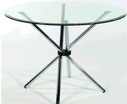 Conference Tables Discussion Circular Table Manufacturer From Mumbai - Round glass conference table