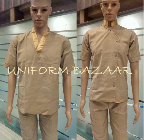 Manufacturer of chef coats restaurant uniforms by gaurav for Uniform spa therapist