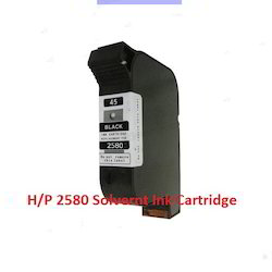 2580 Solvent Black Ink Cartridge (B3F58A)