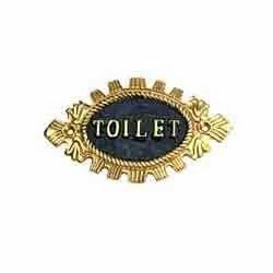 Toilet Signage - Oval