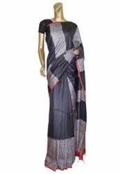 Black Color Wedding Silk Saree